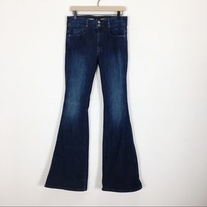 Pilcro and the Letterpress Superscript Flare Jeans